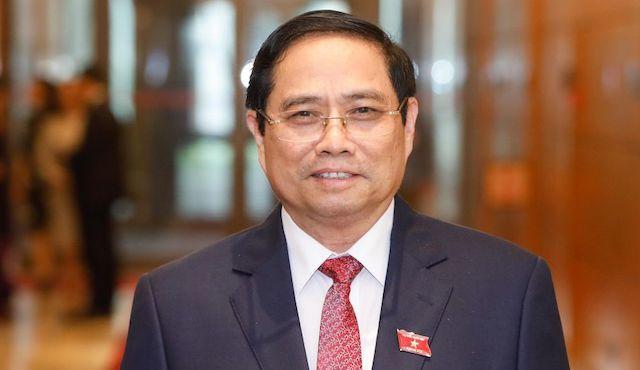 Ông Phạm Minh Chính được giới thiệu để bầu Thủ tướng.