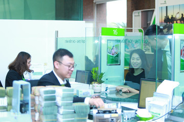 Vietcombank ước lãi 7.000 tỷ trong quý I, tín dụng tăng 3,7%