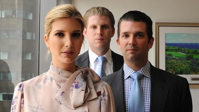 Cách ông Trump nuôi dạy 5 người con