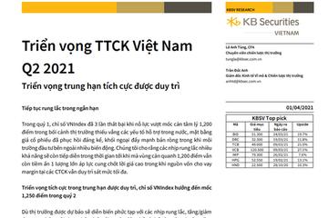 KBSV: Triển vọng thị trường chứng khoán Việt Nam quý II
