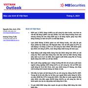 MBS: Báo cáo kinh tế Việt Nam số tháng 3