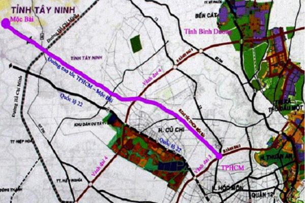 Tây Ninh: Cao tốc TP HCM - Mộc Bài sẽ được lập báo cáo khả thi trong năm nay