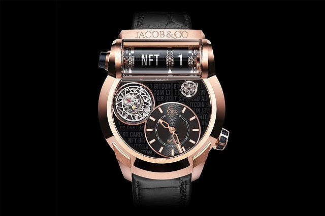 Jacob & Co. đấu giá chiếc đồng hồ NFT đầu tiên