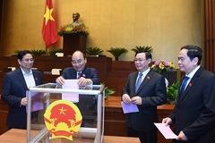 Miễn nhiệm Phó Chủ tịch nước, Ủy viên Ủy ban Thường vụ Quốc hội