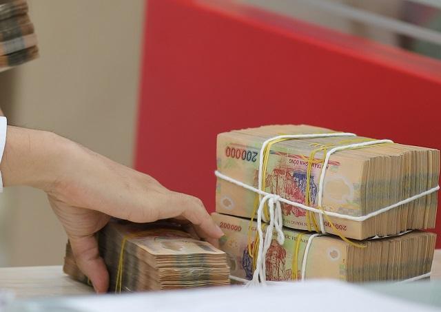 Nhiều ngân hàng báo lãi tăng trưởng cao trong quý đầu năm. Ảnh: Bảo Linh.