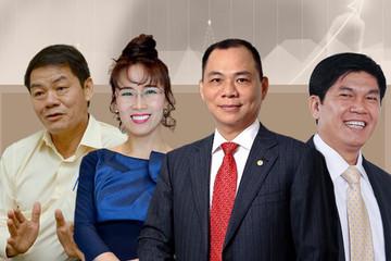 Forbes công bố BXH người giàu năm 2021: Việt Nam có 6 tỷ phú USD