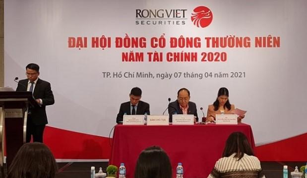 Họp ĐHĐCĐ Chứng khoán Rồng Việt: Lãi trước thuế quý I ước đạt 123 tỷ đồng