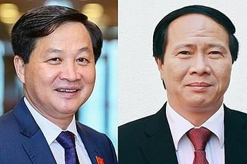 Trình Quốc hội phê chuẩn các Phó Thủ tướng Lê Minh Khái, Lê Văn Thành