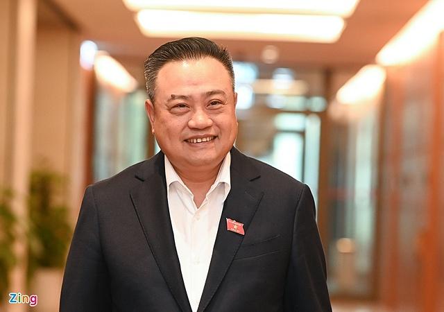 Ông Trần Sỹ Thanh được bầu làm Tổng Kiểm toán Nhà nước. Ảnh: Thuận Thắng.