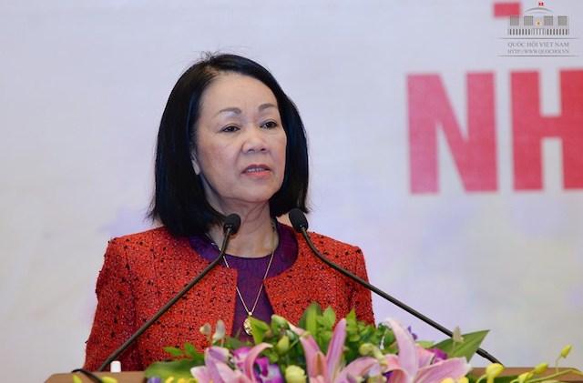 bà Trương Thị Mai đã được Bộ Chính trị phân công làm Trưởng ban Tổ chức Trung ương thay ông Phạm Minh Chính.
