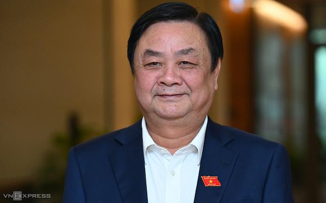 Tân Bộ trưởng Nông nghiệp Phát triển Nông thôn Lê Minh Hoan.