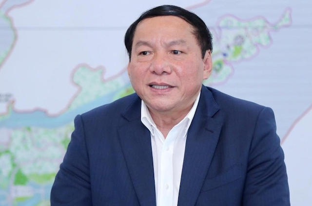 Bộ trưởng Nguyễn Văn Hùng.