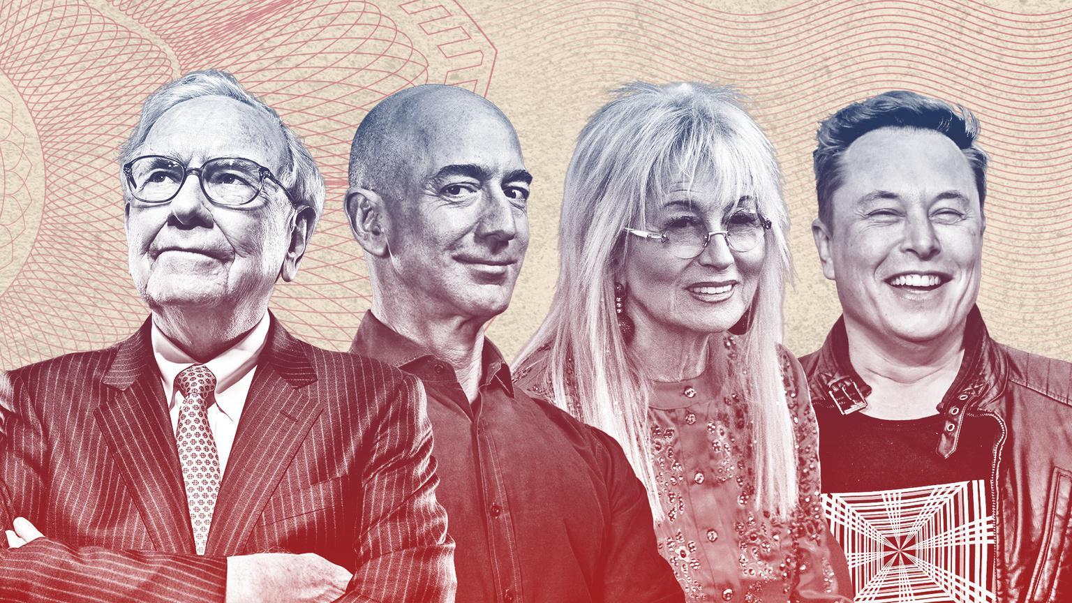 Người giàu nhất tại mỗi bang nước Mỹ