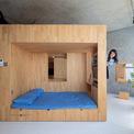 <p> Các kiến trúc sư muốn căn hộ được thông thoáng, không bị đóng kín và có cơ hội sử dụng năng lượng môi trường tự nhiên.</p>