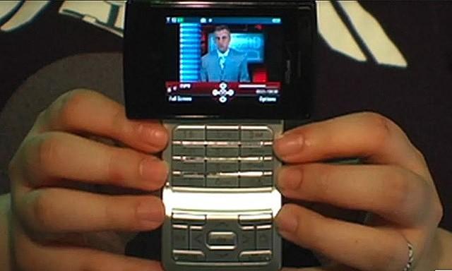 LG VX9400. Ảnh chụp màn hình.