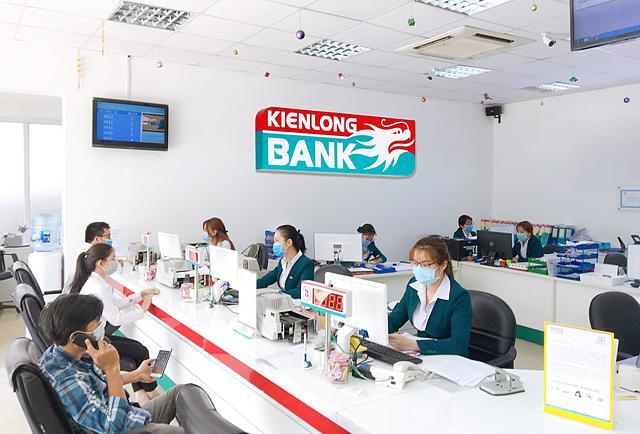 Kienlongbank đặt kế hoạch tăng trưởng lãi bằng lần năm 2021. Ảnh: Kienlongbank.