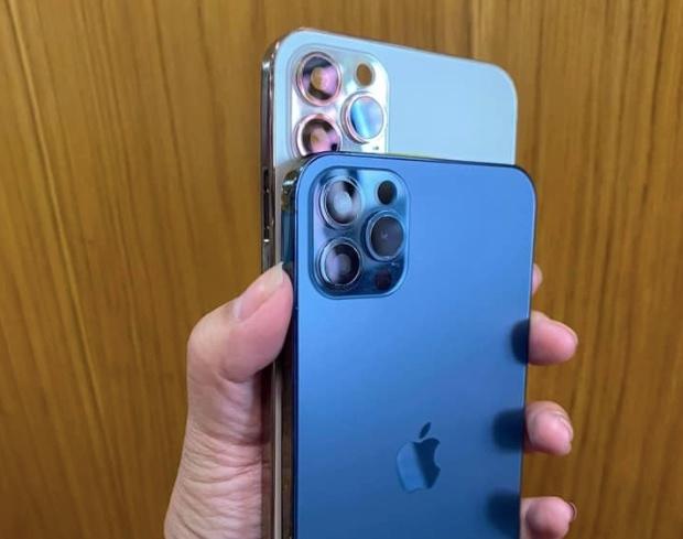 iPhone Xs Max làm lại vỏ để thành iPhone 12 Pro Max được rao trên một trang bán hàng.