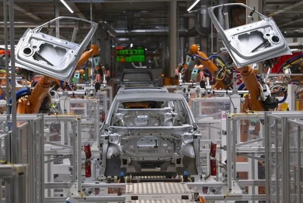 Đức và Pháp bất ngờ chứng kiến sự sụt giảm trong sản lượng công nghiệp. Ảnh: AP