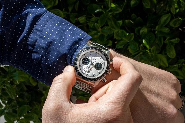 Mẫu đồng hồ Black Bay Chrono mới vừa được Tudor giới thiệu. Ảnh: Hodinkee.