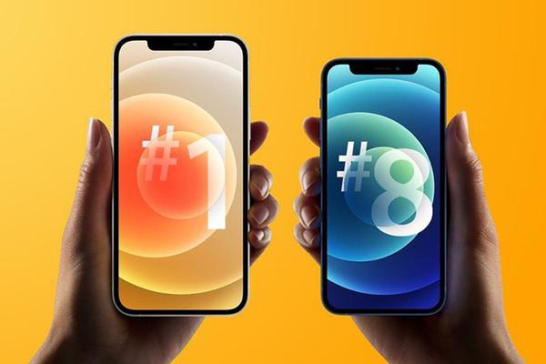 iPhone 12 là smartphone bán chạy nhất đầu năm 2021