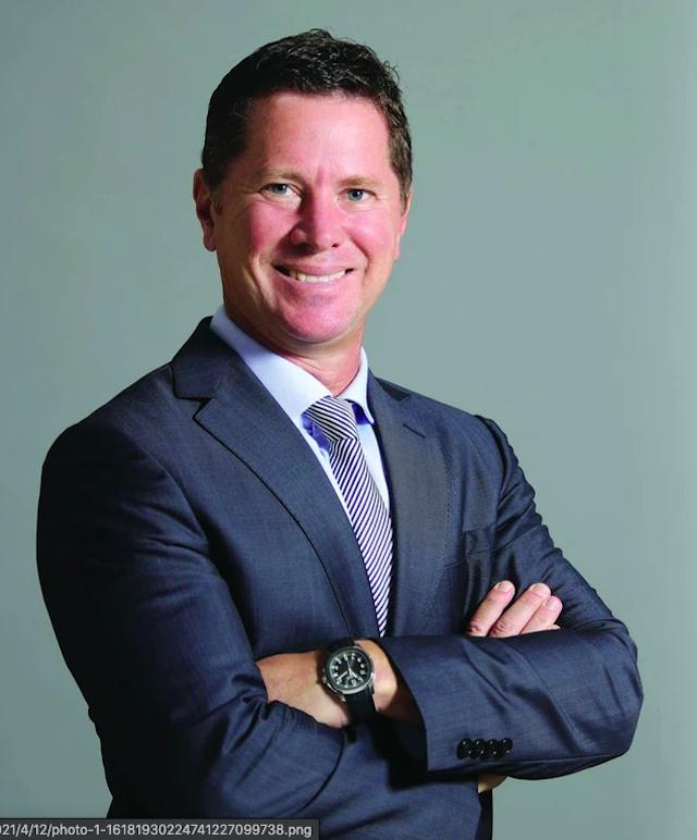 Ông Tim Evans, Tổng Giám đốc HSBC tại Việt Nam.