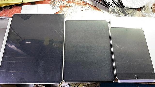 Sẽ có ba thành viên iPad mới ra mắt trong năm nay ẢNH CHỤP MÀN HÌNH GSMARENA