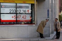Chứng khoán châu Á tăng sau phiên giao dịch trầm lắng của Phố Wall
