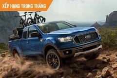 Top xe bán chạy tháng 3: Ford Ranger bất ngờ dẫn đầu