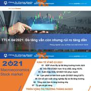 YSVN: Thị trường chứng khoán tháng 4 - Đà tăng vẫn còn nhưng rủi ro tăng dần