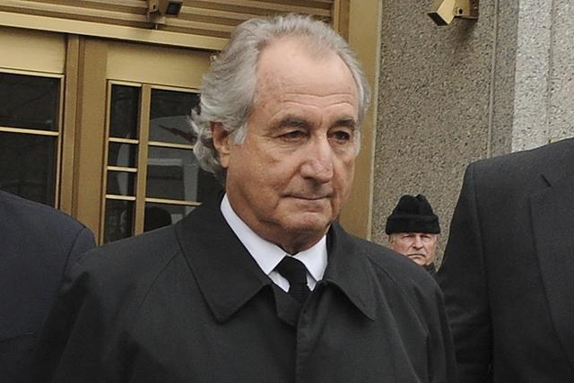 Bernard Madoff tại tòa án năm 2009. Ảnh: AP.