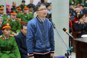 Trịnh Xuân Thanh kháng cáo toàn bộ bản án vụ Ethanol Phú Thọ