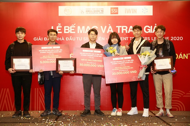 """Các """"Chứng sĩ"""" đoạt giải của Giải đấu """"Student Trader League 2020 - Nhà Đầu tư sinh viên 2020"""""""