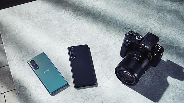 Xperia 1 III và Xperia 5 III là hai smartphone hướng đến phân khúc cao cấp. Ảnh: Sony.