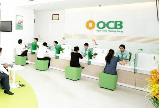 OCB tăng lãi 15% trong quý I. Ảnh: OCB