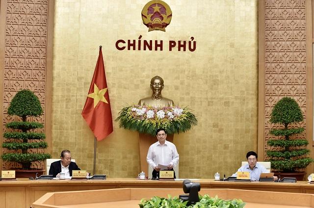 Thủ tướng Phạm Minh Chính chủ trì phiên họp Chính phủ ngày 15/4.