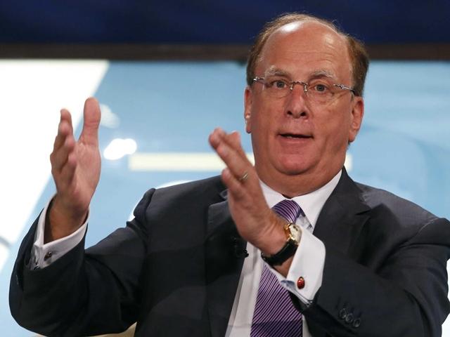 Larry Fink, CEO của BlackRock. Ảnh: BI.