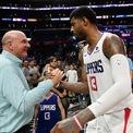 """<p class=""""Normal""""> <strong>2. Steve Ballmer</strong>, ông chủ đội bóng rổ Mỹ Los Angeles Clippers. Ông cũng là cựu CEO của Microsoft. (Ảnh: <em>Getty Image</em>)</p> <p class=""""Normal""""> Tài sản: 68,7 tỷ USD, tăng 30% so với năm 2020</p> <p class=""""Normal""""> Nguồn tài sản: Microsoft</p>"""