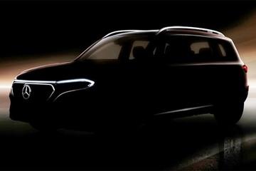 SUV điện Mercedes-Benz EQB chuẩn bị ra mắt