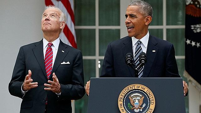 8 năm làm phó tổng thống dưới thời ông Obama không mang lại kinh nghiệm trong vai trò tổng tư lệnh cho ông Biden. Ảnh: WSJ.