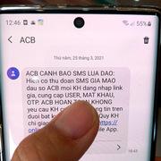Tái diễn mạo danh tin nhắn ngân hàng, hỗ trợ nâng cấp sim 4G để lừa đảo