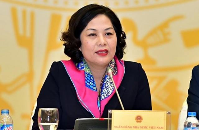 Thống đốc Nguyễn Thị Hồng. Ảnh: SBV.