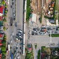 """<p class=""""Normal""""> Đoạn cuối đường giao với quốc lộ 5 và tuyến đường sắt Bắc-Nam. Trong tương lai nút giao này được mở rộng thành ngã tư trọng điểm của huyện Gia Lâm.</p> <p class=""""Normal""""> Việc khánh thành, đưa vào khai thác tuyến đường này góp phần khớp nối đồng bộ hệ thống giao thông khu vực xã Kiêu Kỵ, Dương Xá với khu vực trung tâm thị trấn Trâu Quỳ, Gia Lâm qua đó, giảm tải, hạn chế ùn tắc cho quốc lộ 5.</p>"""