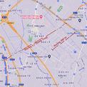 <p> Bản đồ vị trí hai tuyến đường mới ở mở huyện Gia Lâm.</p>