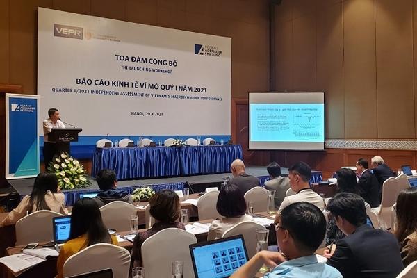 VEPR: Dấu hỏi về tăng trưởng kinh tế và ngành dịch vụ quý I