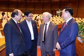 Thủ tướng ứng cử ĐBQH tại Cần Thơ, Chủ tịch Quốc hội tại Hải Phòng