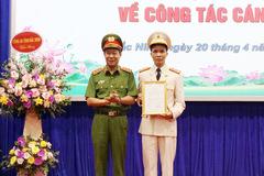 Bắc Ninh, Nghệ An có tân giám đốc công an