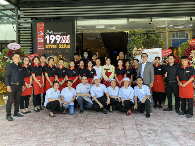 King BBQ - một thương hiệu nướng nổi bật của RedSun.