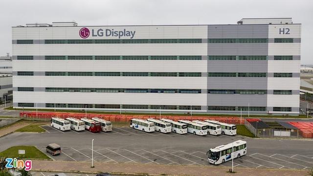 Một nhà máy của LG tại Hải Phòng.