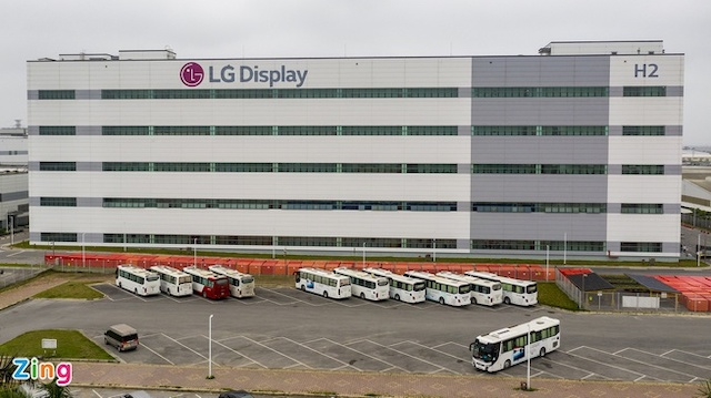 Nhà máy sản xuất smartphone LG ở Hải Phòng chuyển sang làm đồ gia dụng