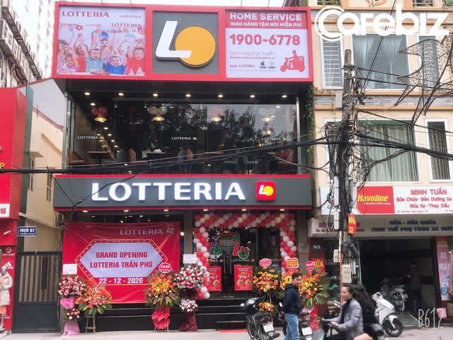 Lotteria thua lỗ liên tục tại thị trường Việt Nam trong vài năm gần đây.